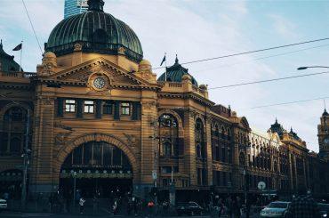 Melbourne's iconic Flinders Street Railway Station.