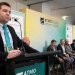 Esequias Pereira, Embraco, presents during ATMO Australia 2019