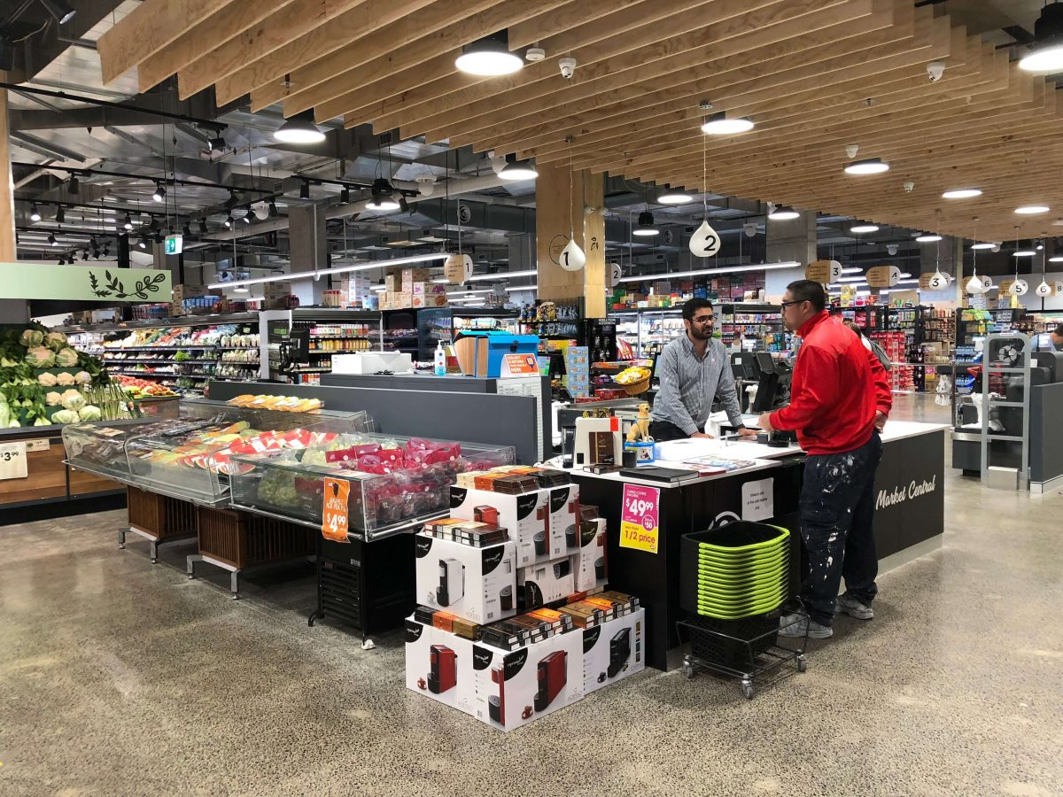 IGA Market Central at Wentworth Point in western Sydney where a transcritical CO2 system was installed in 2017