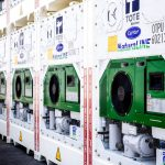 Carrier Transicold's NaturaLINE CO2 refrigerated container for TOTE Maritime Puerto Rico