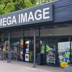 Mega Image store in the Straduintei district, Bucharest