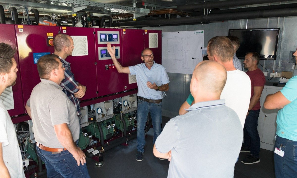 CO2 training at TEKO headquarters in Altenstadt, Germany.
