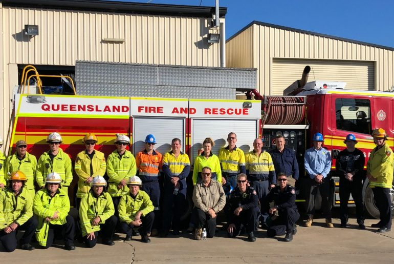 The RWTA Ammonia Emergency Management Training Program was created in conjunction with the Queensland Fire and Emergency Services.