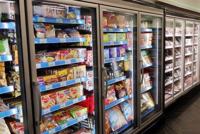 R290 fridges inside the new ECO store