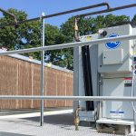 Weis transcritical CO2 system with adiabatic gas cooler