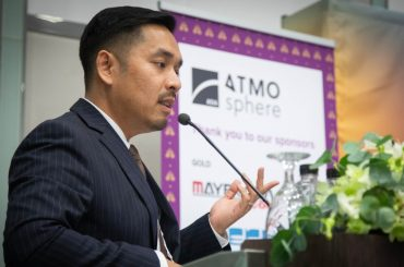 Phurinat Sirirat, The Cool presenting at ATMOsphere Asia 2019 in Bangkok, Thailand.