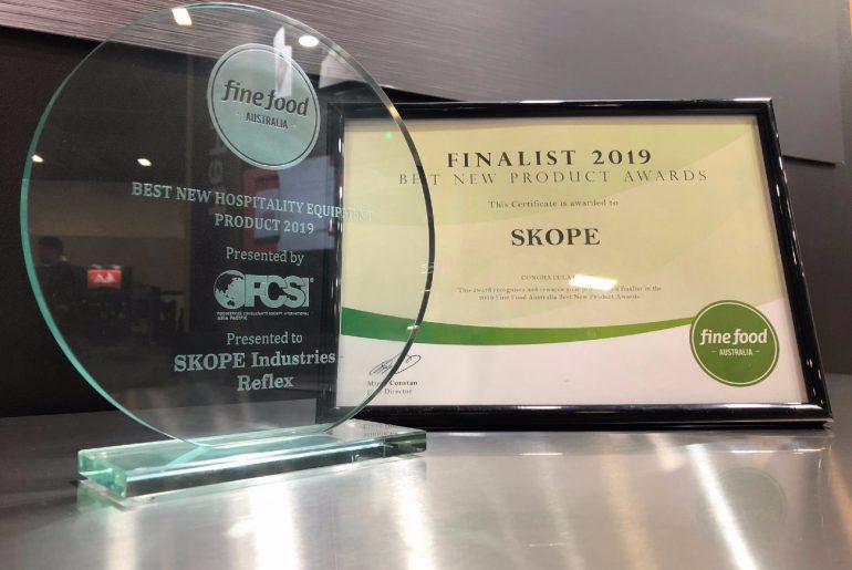Skope's award-winning R290 ReFlex range.