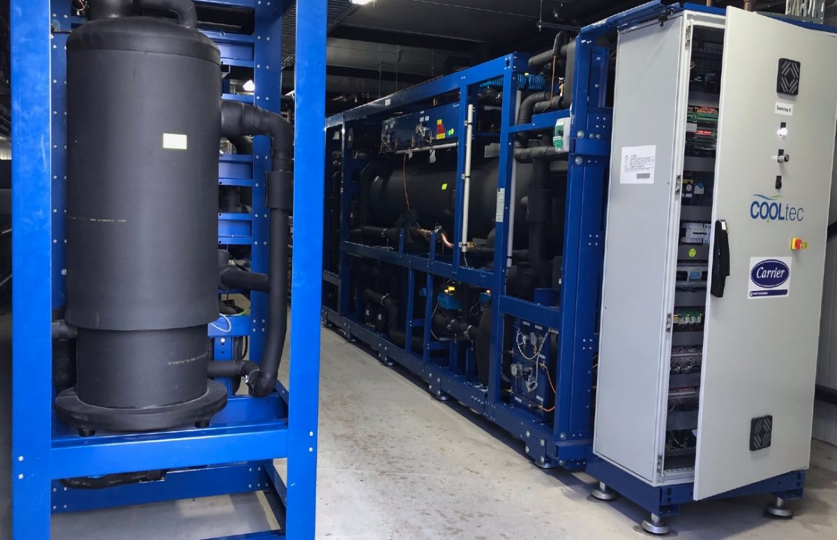 Two new CO2 transcritical racks with ejectors at Metro AG store in Bulgaria.