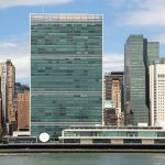 United Nations HQ in New York City
