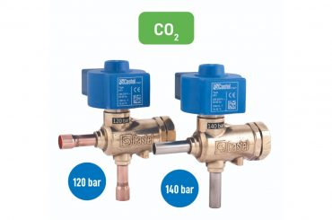 Castel CO2 solenoid valves