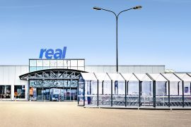 REAL Supermarket with leased CO2 refrigeration systems