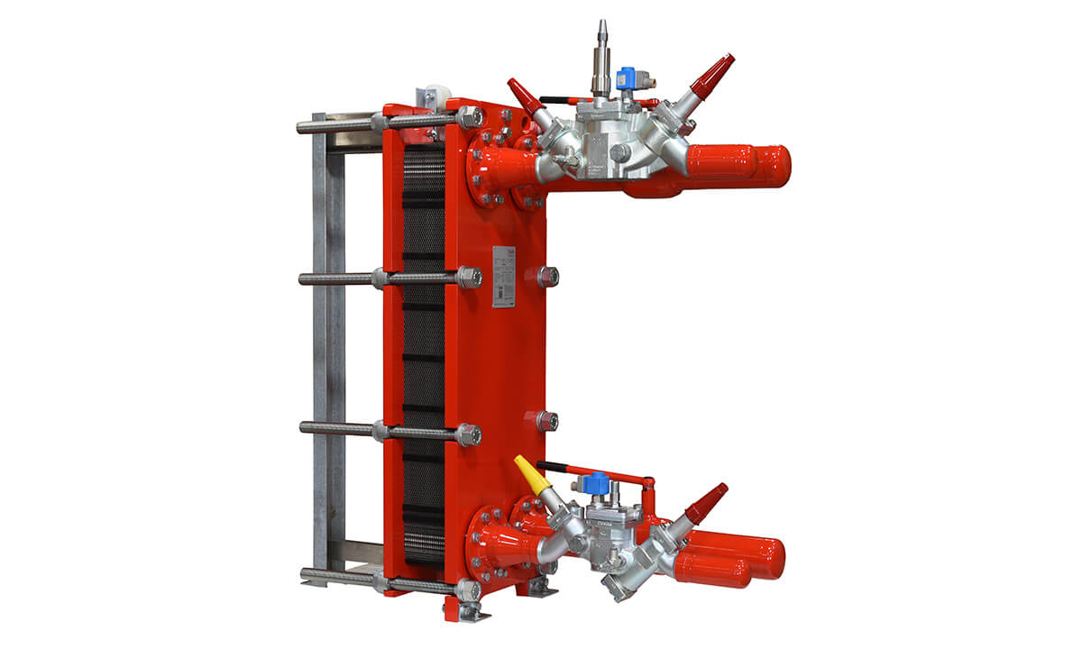 Danfoss Semi-Welded Plate Heat Exchanger