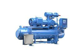 Emerson Vilter R717 Single Screw compressor for heat pumps