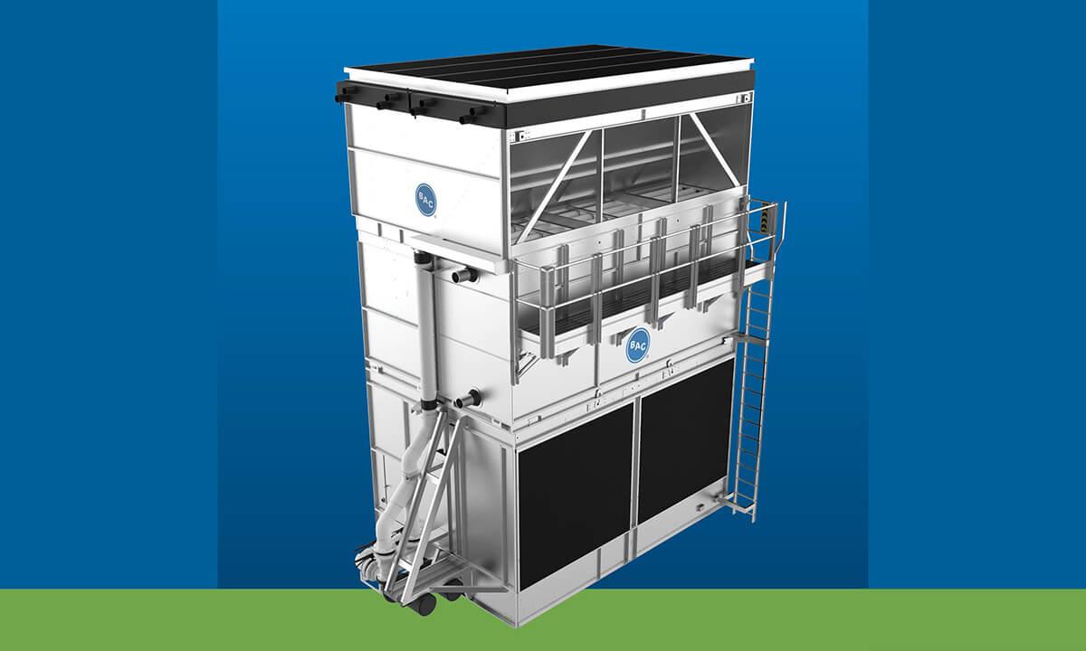 BAC HXV evaporative hybrid cooler