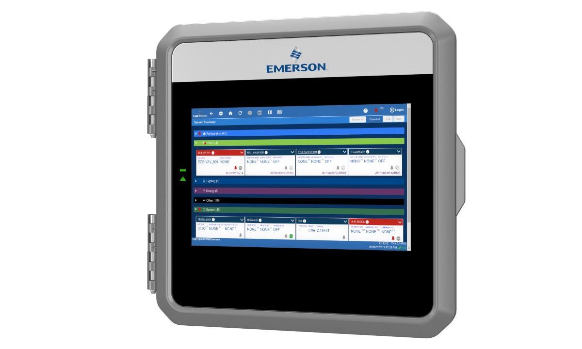 Emerson Lumity controller